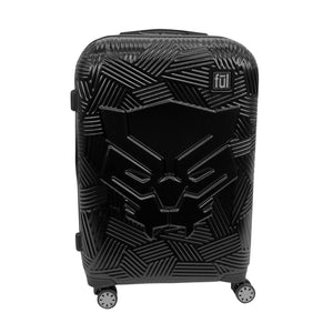 Marvel Black Panther Icon Molded Hard Sided 29in Rolling Luggage