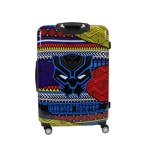 Marvel Black Panther Tribal Art 25in Hard Sided Rolling Luggage