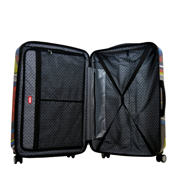 FŪL Marvel Black Panther Tribal Art 25in Hard Sided Rolling Luggage