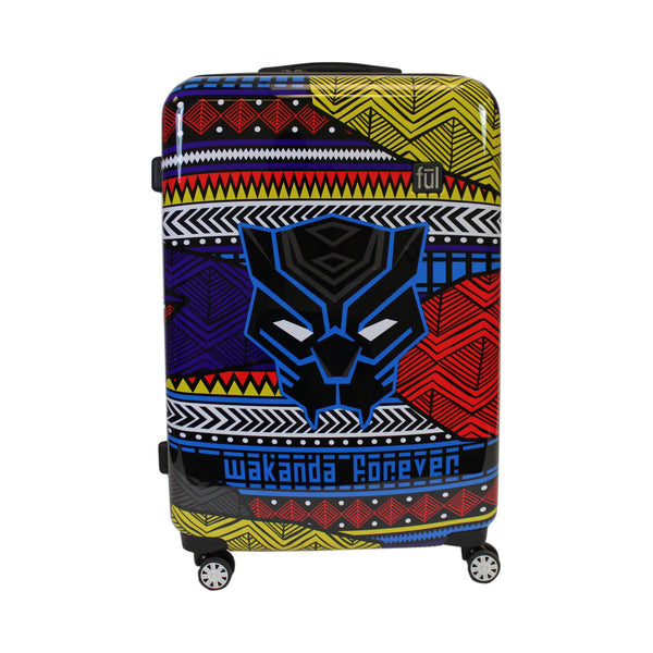 FŪL Marvel Black Panther Tribal Art 29in Hard Sided Rolling Luggage