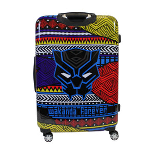 Marvel Black Panther Tribal Art 29in Hard Sided Rolling Luggage