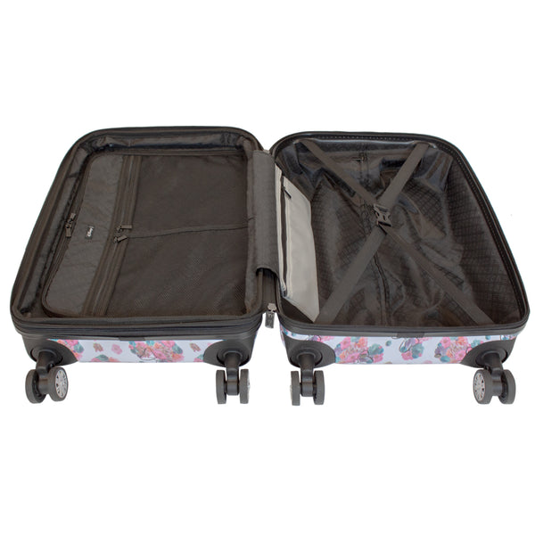 "FŪL Disney Minnie Mouse  Floral 29"" Printed Hardsided Rolling Luggage"