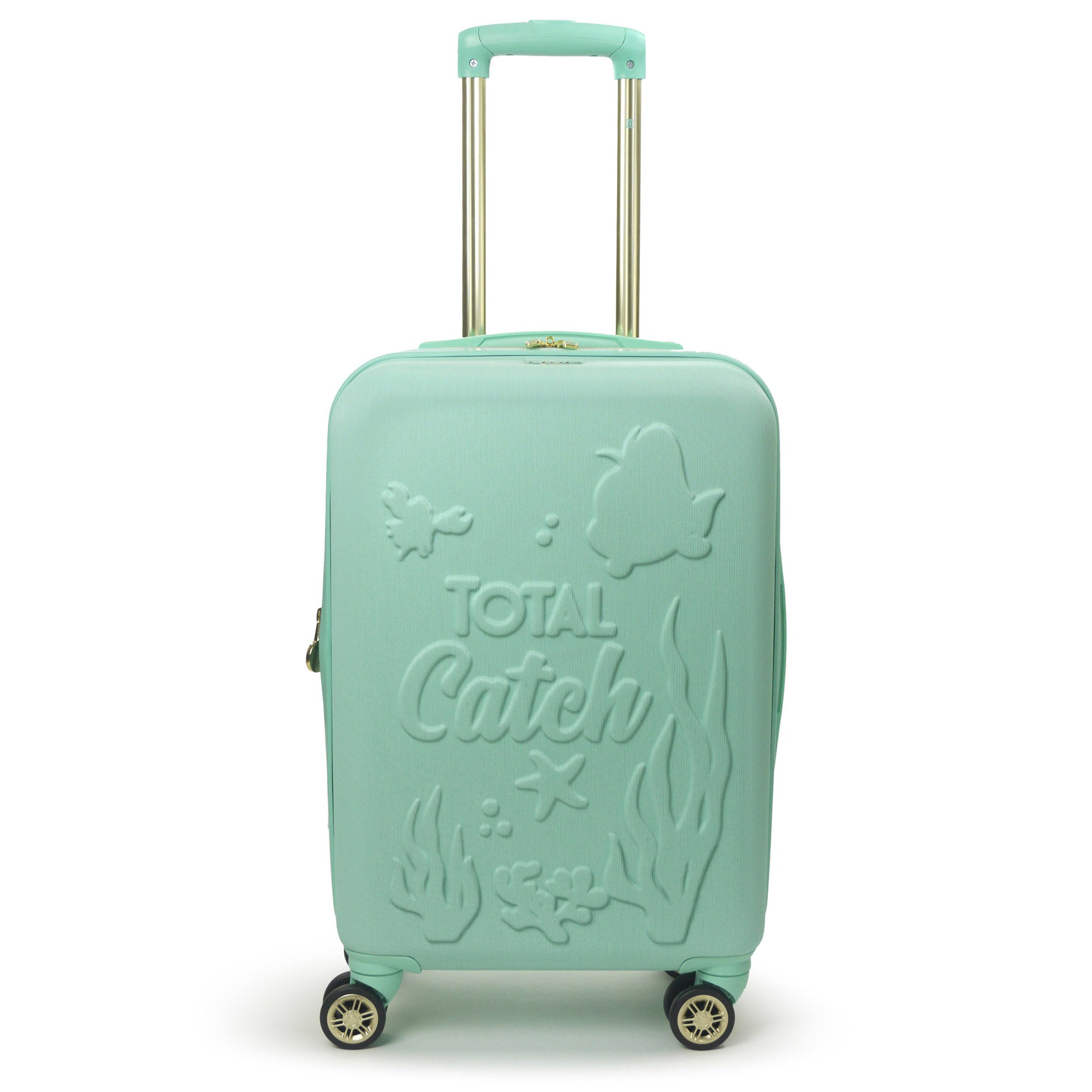 "Disney Little Mermaid FŪL 21"" Hard Rolling Luggage-Ful Luggage-Christmas-Sale!-50%-Off-with-code-HolidayFul50"
