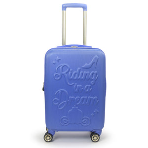 "FŪL Disney Princess Cinderella Hard-sided 21"" Carry On Luggage"