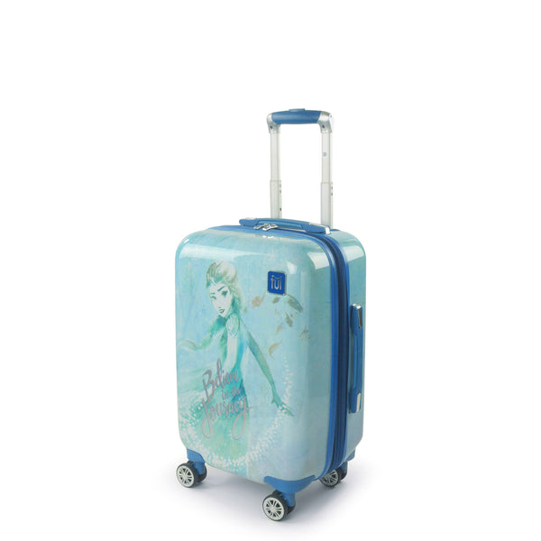 FUL Disney Frozen II Elsa Believe in the Journey 21in Luggage Spinner
