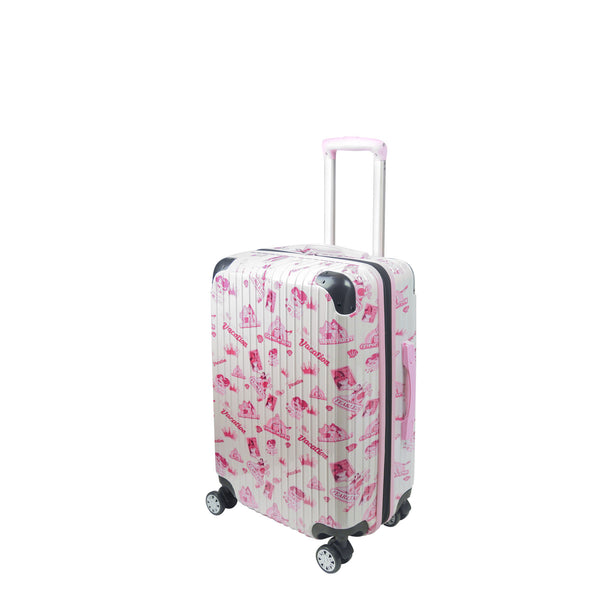"Disney Princesses Badges FŪL 21"" Rolling suitcase-Ful Luggage-Christmas-Sale!-50%-Off-with-code-HolidayFul50"