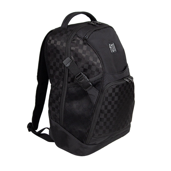 "Marlon 19"" Black Checkerboard FŪL Tech Backpack-Ful Luggage-Christmas-Sale!-50%-Off-with-code-HolidayFul50"