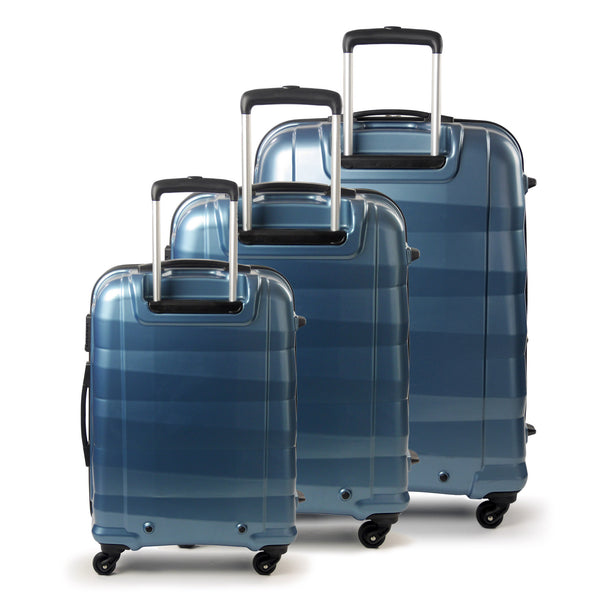 Radiant Series Hardsided 3 Piece Luggage Set