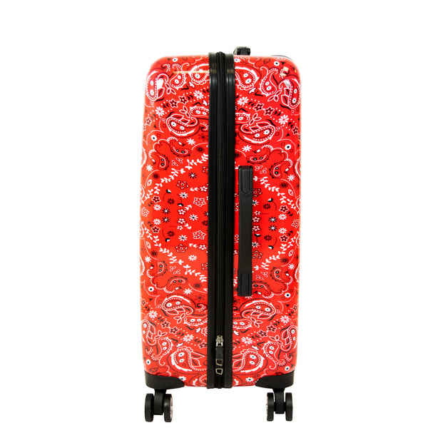 Printed Bandana 25in Hard Sided Rolling Luggage