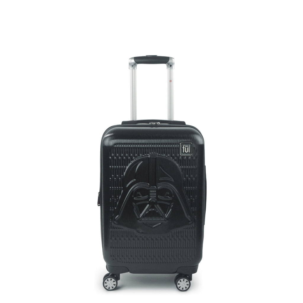 $69.99 (reg $300) FUL Star Wars Darth Vader Embossed 21in Spinner Suitcase