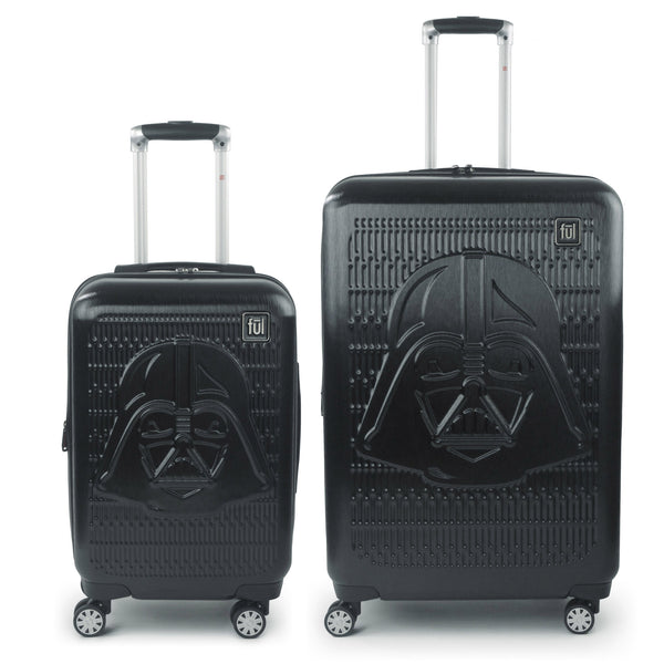 FUL Star Wars Darth Vader Embossed 2 Piece Luggage Set