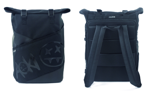 Steve Aoki FŪL FANG Rolltop Tech Backpack