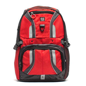 Momentor Tx1 Laptop Backpack, Red