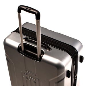 Payload 25in Spinner Rolling Luggage, Silver