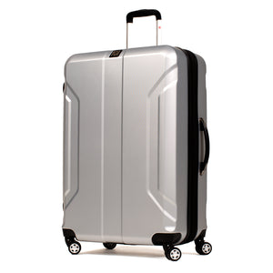 Payload 21in Spinner Rolling Luggage, Silver