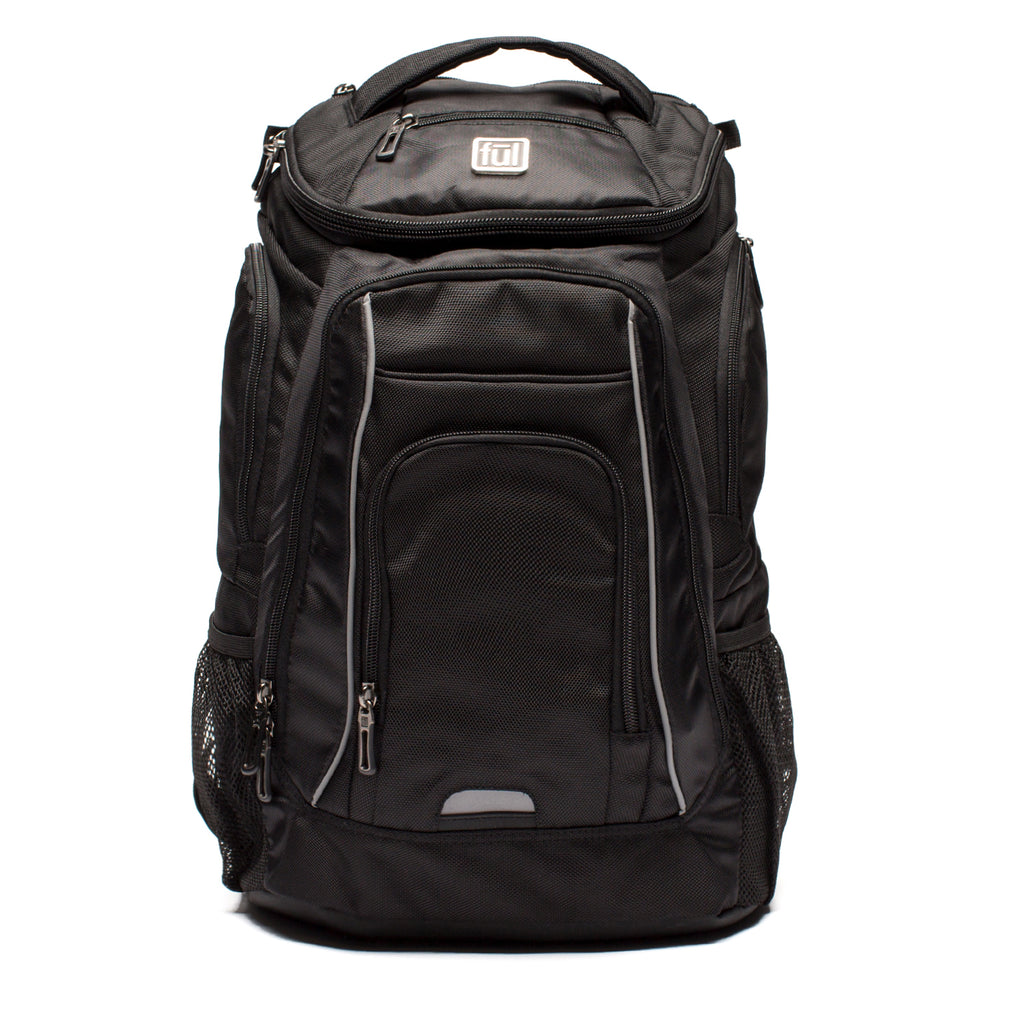 Edrik Padded Laptop Backpack – Ful Luggage 81be38d09