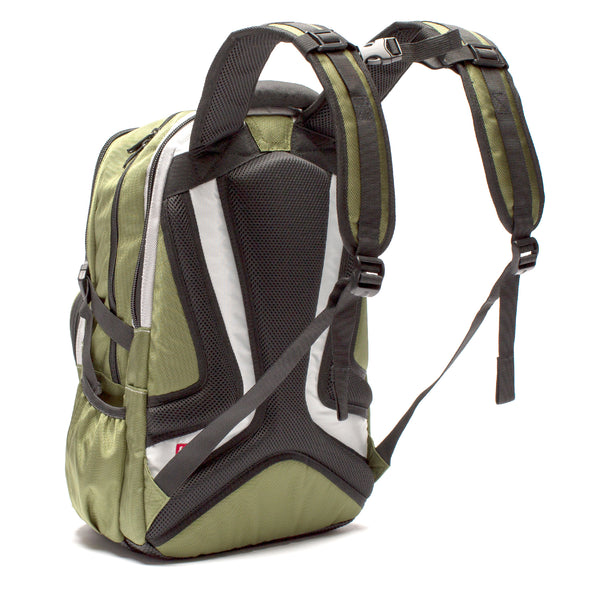 TMan Ballistic Nylon Olive FŪL Tech Backpack-Ful Luggage-Christmas-Sale!-50%-Off-with-code-HolidayFul50