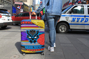 Marvel Black Panther Tribal Art 21in Hard Sided Rolling Luggage