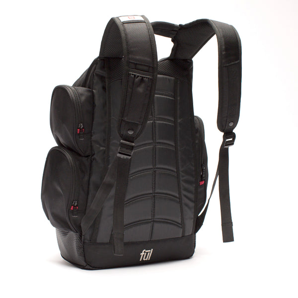 Refugee Laptop Backpack, Black