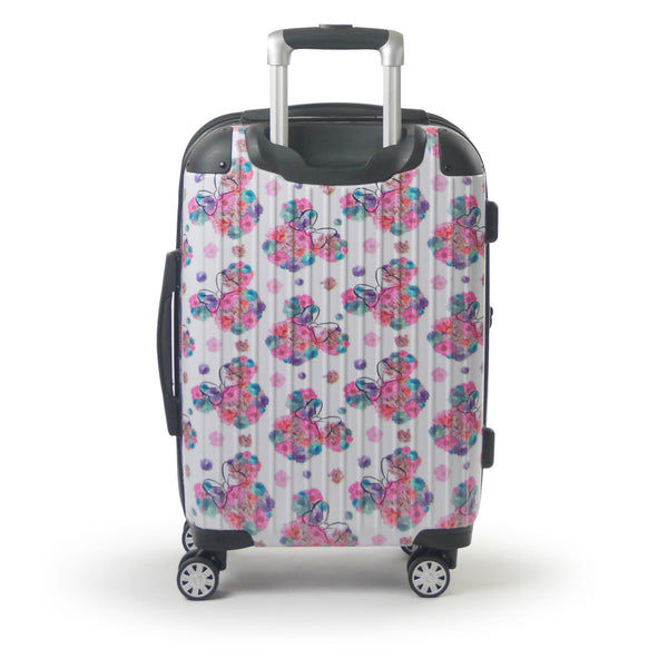 "FŪL Disney Minnie Mouse  Floral 21"" Printed Hardsided Rolling Luggage"