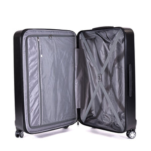 Urban Grid 2 Piece Luggage Set, Spinner Rolling Luggage Suitcases, 29in, and 21in Sizes