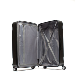 Payload 21in Spinner Rolling Luggage, Charcoal