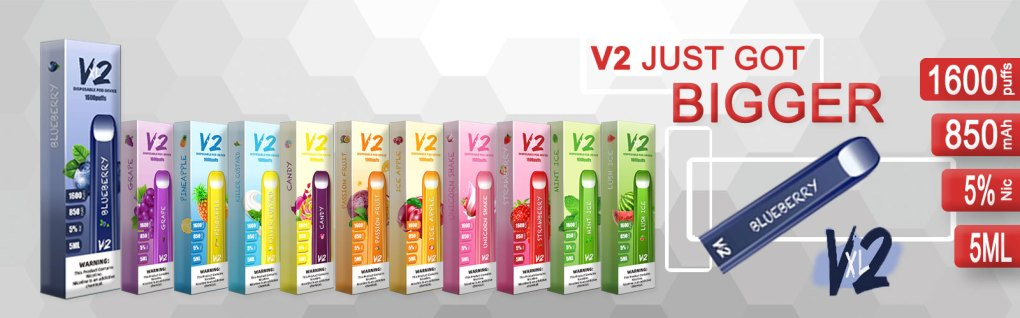 V2 XL Disposable Vape Banner