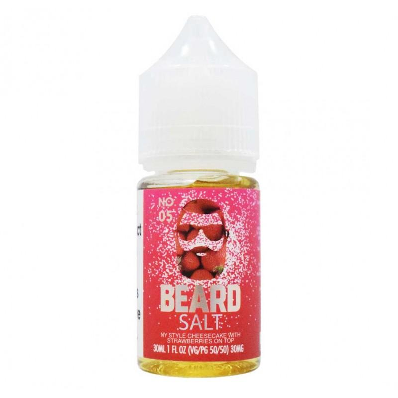 Beard Vape Co No.05 Salt 30mL - Ohm City Vapes