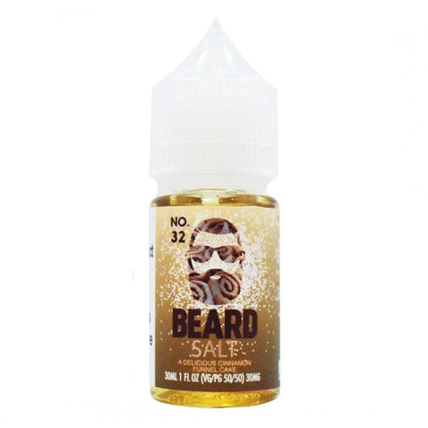 Beard Salts No. 32 Cinnamon Funnel Cake | 30ml The Smokers World