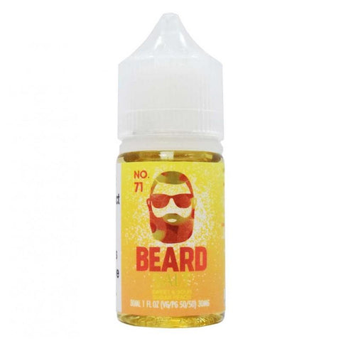 Beard Salts No. 71 Sweet & Sour Sugar Peach | 30ml The Smokers World