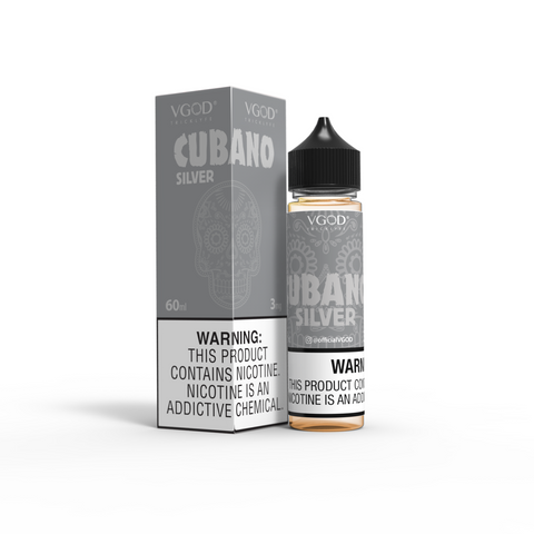 CUBANO SILVER BY VGOD 60ML - Ohm City Vapes