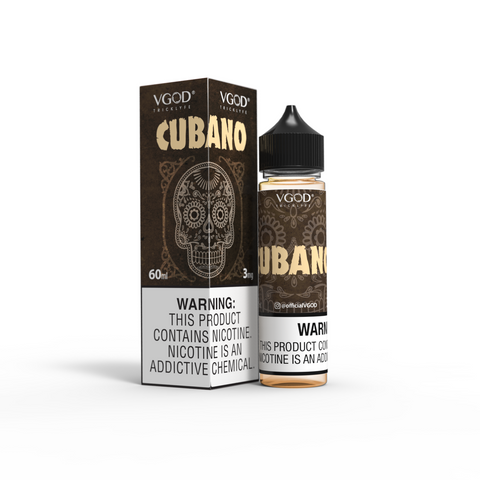 CUBANO BY VGOD 60ML - Ohm City Vapes