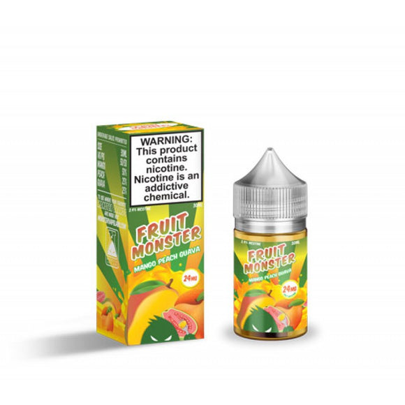 Fruit Monster Mango Peach Guava Salt 30mL - Ohm City Vapes