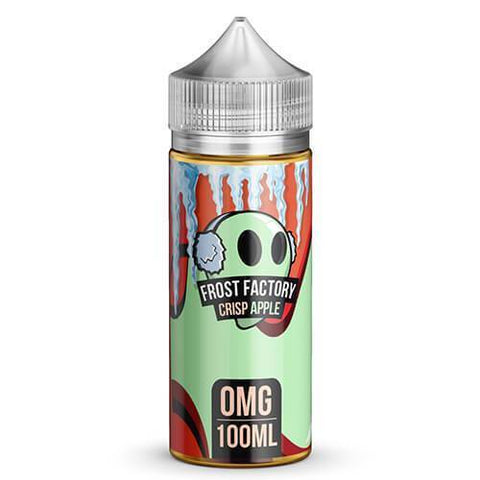 Crisp Apple by Frost Factory E-Liquid - 100ml - The King of Vape