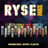 RYSE Max Disposable Vape Device - 10PK - Ohm City Vapes