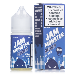 Jam Monster Blueberry Salt 30mL - Ohm City Vapes