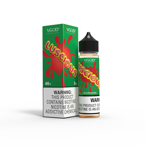 LUSCIOUS BY VGOD 60ML - Ohm City Vapes