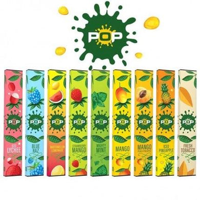 Pop Disposable Vape Device - 10PC - Ohm City Vapes