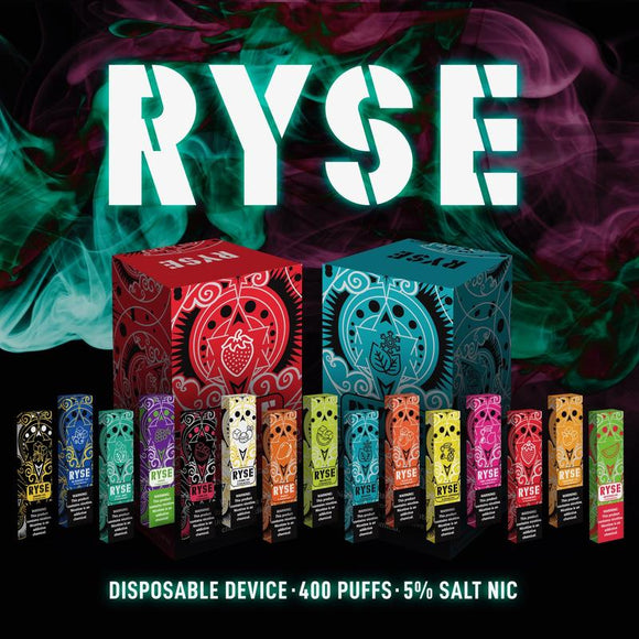 RYSE Disposable Vape Device - 10PK - Ohm City Vapes
