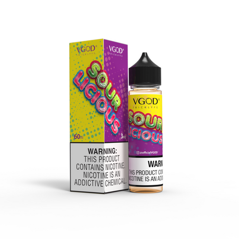 SOURLICIOUS BY VGOD 60ML - Ohm City Vapes