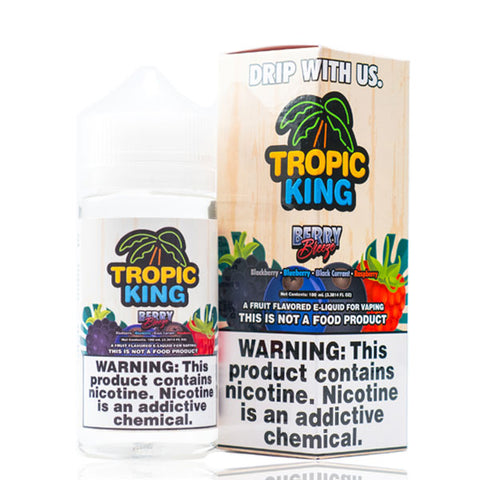 Berry Breeze by Tropic King - 100ml Ohm City Vapes