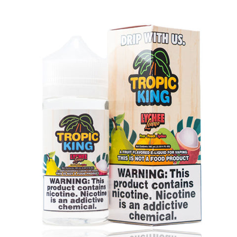 Lychee Luau by Tropic King - 100ml Ohm City Vapes