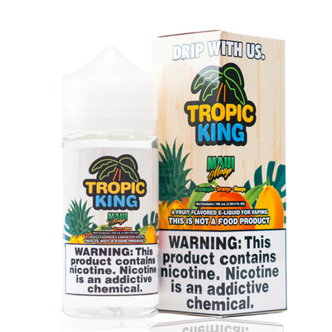 Maui Mango by Tropic King - 100ml Ohm City Vapes