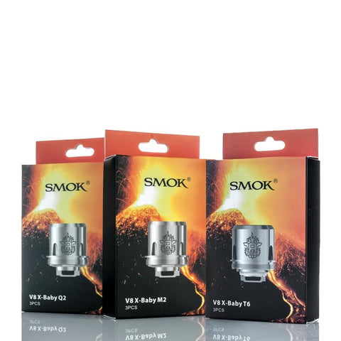 SMOK TFV8 X-BABY REPLACEMENT COILS (3PCS) - The King of Vape