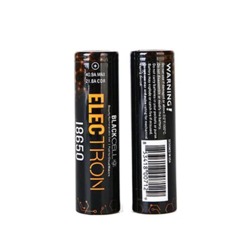 Blackcell 18650 Electron Battery - 2PK - Ohm City Vapes