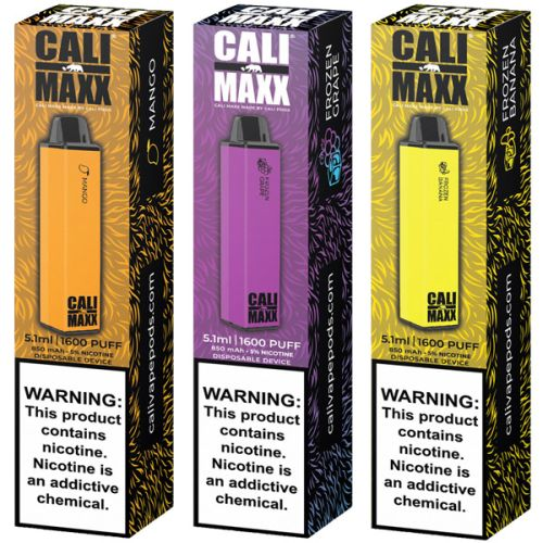 Cali Pods Cali MAXX Vape Device - 10PK - Ohm City Vapes