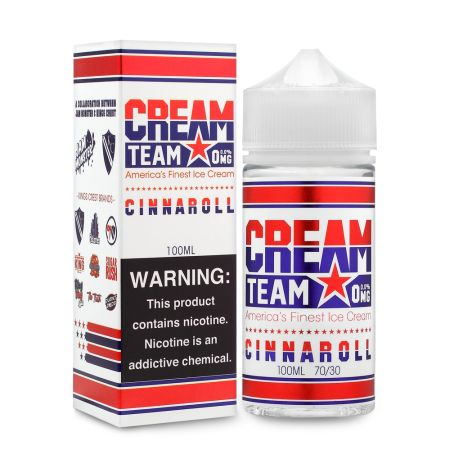 Cream Team Cinnaroll 100mL - Ohm City Vapes