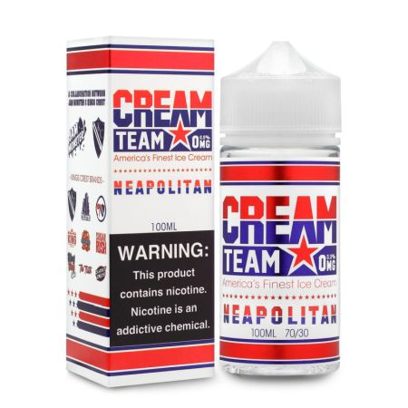 Cream Team Neapolitan 100mL - Ohm City Vapes