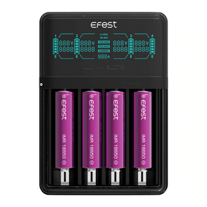 Efest LUC V4 Elite Battery Charger - Ohm City Vapes