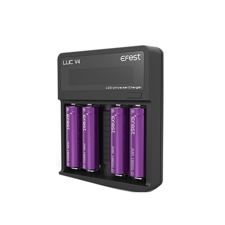EFfest LUC V4 Battery Charger - Ohm City Vapes